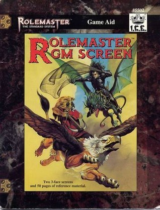 Rolemaster GM Screen (Rolemaster Standard System, #5502)  by  ICE Staff