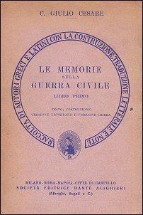 Le memorie sulla guerra civile  by  Gaius Iulius Caesar