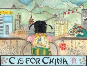 C Is for China Robyn Chance