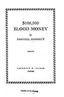 $106,000 Blood Money Dashiell Hammett