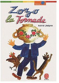 Zozo La Tornade  by  Astrid Lindgren