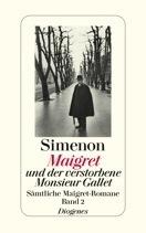 Maigret Und Der Verstorbene Monsieur Gallet Georges Simenon