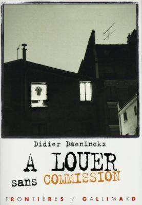À louer sans commission  by  Didier Daeninckx