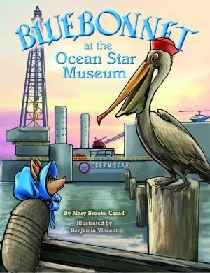 Bluebonnet at the Ocean Star Museum Mary Brooke Casad