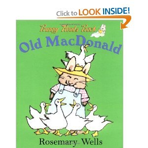 Bunny Reads Back...Old Mac Donald Rosemary Wells