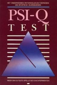 PSI-Q test  by  Hans Jürgen Eysenck