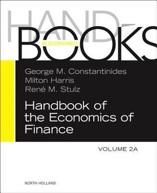 Hdbk Economics of Finance Volume 2a George M. Constantinides