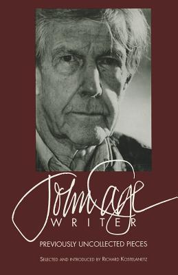John Cage Writer John Cage