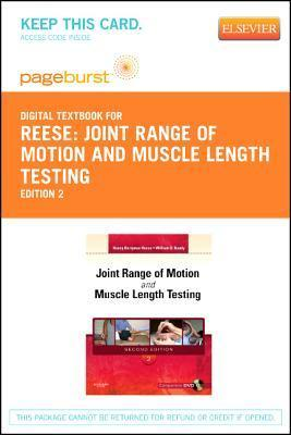 Joint Range of Motion and Muscle Length Testing - Elsevier E-Book on Vitalsource  by  Nancy Berryman Reese
