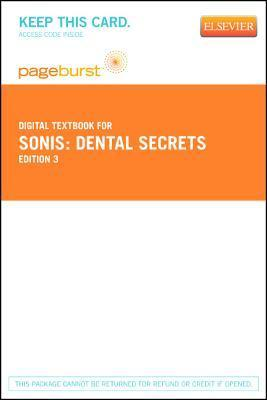 Dental Secrets - Pageburst E-Book on Vitalsource  by  Stephen T. Sonis