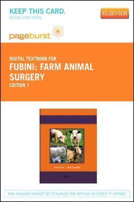 Farm Animal Surgery - Elsevier E-Book on Vitalsource Susan L. Fubini