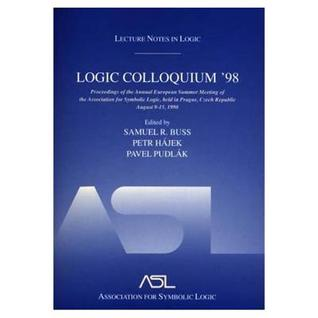 Logic Colloquium 98: Lecture Notes In Logic #13 (Lecture Notes In Logic, 13) Samuel R. Buss