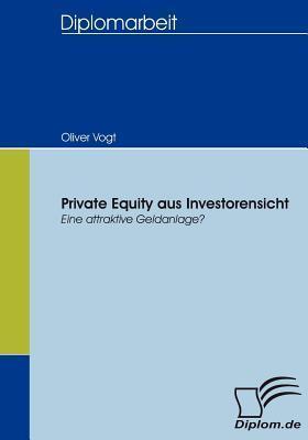 Private Equity Aus Investorensicht Oliver Vogt