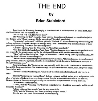 The End Brian M. Stableford