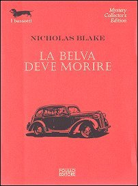 La belva deve morire  by  Nicholas Blake