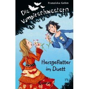 Herzgeflatter im Duett (Die Vampirschwestern #4)  by  Franziska Gehm
