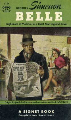 Belle  by  Georges Simenon