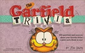The Garfield Trivia Book Jim Davis