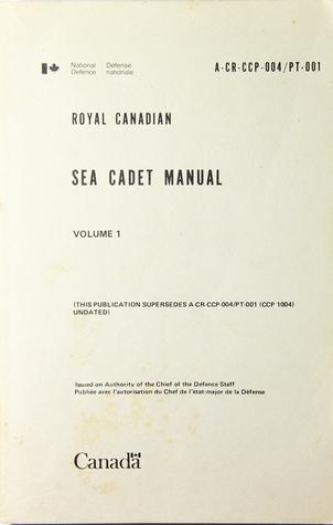 Royal Canadian Sea Cadet Manuel DND Canada