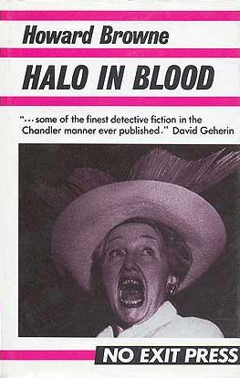 Halo In Blood  by  Howard Browne