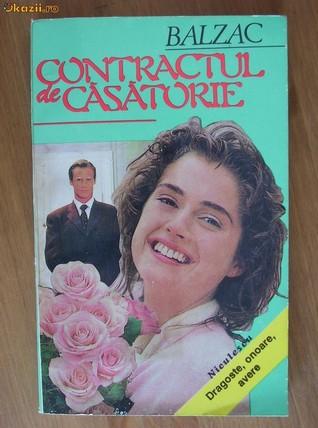 Contractul de casatorie  by  Honoré de Balzac