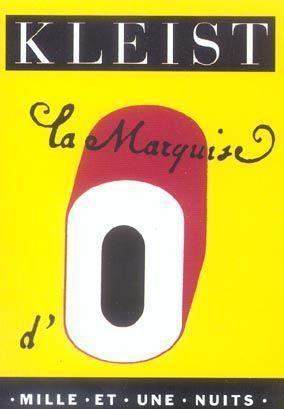 La Marquise dO  by  Heinrich von Kleist