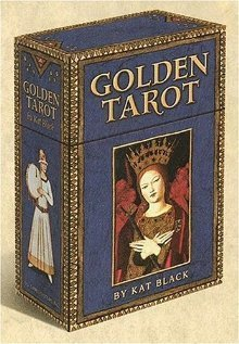 Golden Tarot Deck with 120 page book  by  Kat   Black