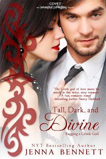 Tall, Dark, and Divine (Bagging a Greek God, #1) Jenna Bennett