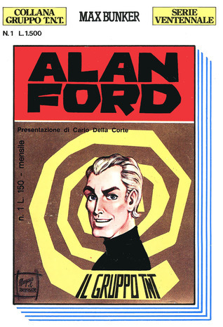 Alan Ford n. 1: Il gruppo TNT  by  Max Bunker