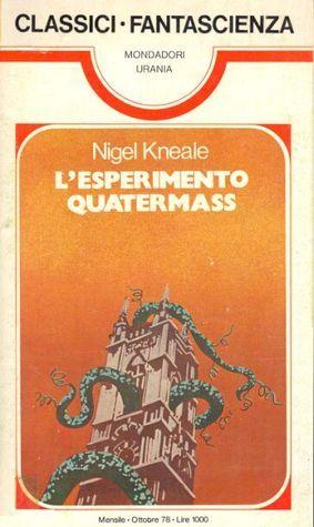 Lesperimento Quatermass Nigel Kneale