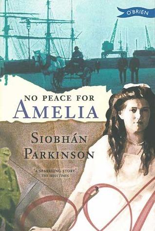 No Peace for Amelia (Amelia Pim, #2) Siobhán Parkinson
