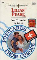 No Promise of Love  by  Lilian Peake