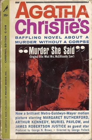 Murder She Said  by  Agatha Christie