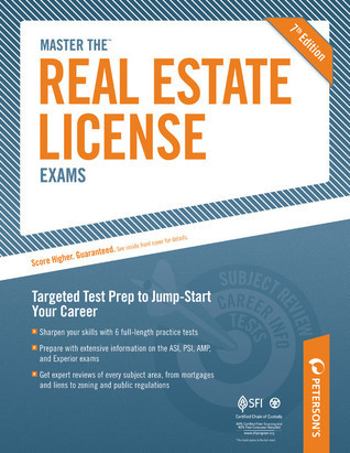 Master The Real Estate License Examinations Petersons