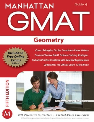 Geometry GMAT Strategy Guide, 5th Edition Manhattan GMAT