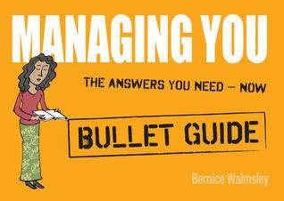 Managing You Bernice Walmsley
