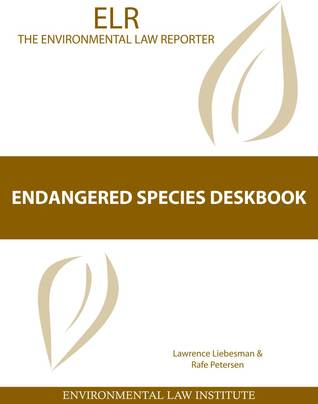 Endangered Species Deskbook  by  Lawrence Liebesman