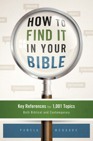 How to Find It in Your Bible: Key References for 1,001 Topics Both Biblical and Contemporary  by  Pamela L. McQuade
