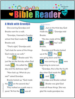 Weekly Bible Reader®—Fall 2011  by  Standard Publishing