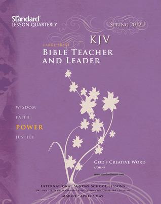 KJV Bible Teacher & Leader Large Print—Spring 2012  by  Standard Publishing