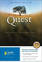 The Quest Study Bible New International Version Bonded Leather Navy Personal Size  by  Anonymous