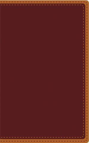 NVI Biblia, Letra Grande, Tamano Personal, DOS Tonos Italiano, Vino/Caramelo  by  Vida Publishers