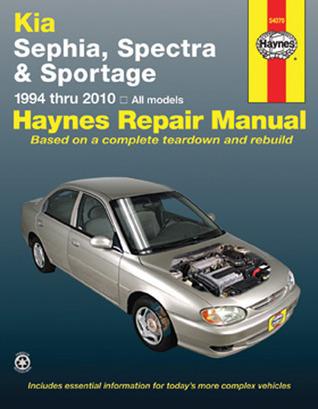 Kia Spectra/Sephia/Sportage 1994 thru 2010 John Harold Haynes