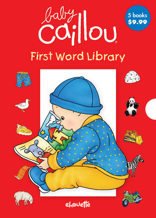 Baby Caillou First Word Library Anne Paradis