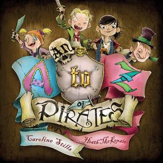 An A to Z of Pirates  by  Caroline Stills