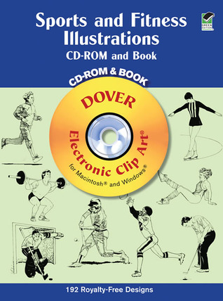 Sports and Fitness Illustrations CD-ROM and Book Dover Publications Inc.