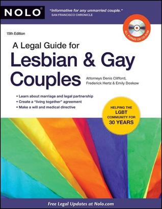 Legal Guide for Lesbian & Gay Couples, A Denis Clifford
