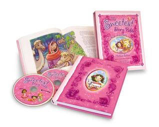 The Sweetest Story Bible Deluxe Edition: Sweet Thoughts and Sweet Words for Little Girls  by  Diane Stortz