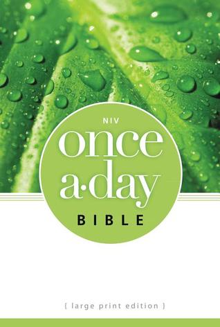 Once-A-Day Bible-NIV-Large Print  by  Anonymous