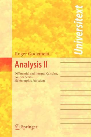 Analysis II  by  Roger Godement